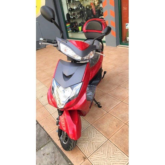 My Force Electric Scooter Red