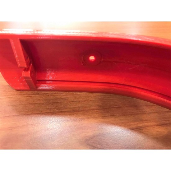 3D Rear Wing For Electric Skate Xiaomi Red