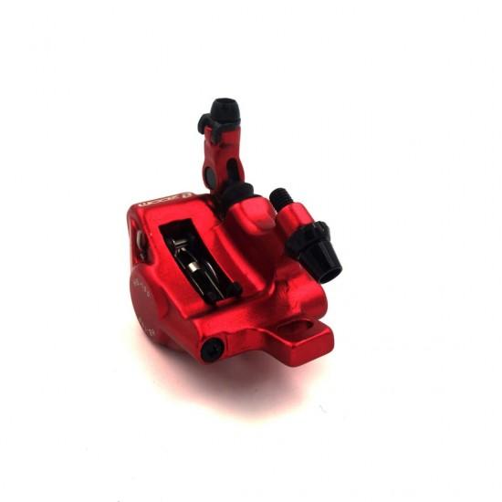 Red Caliper Set With Brake Disc