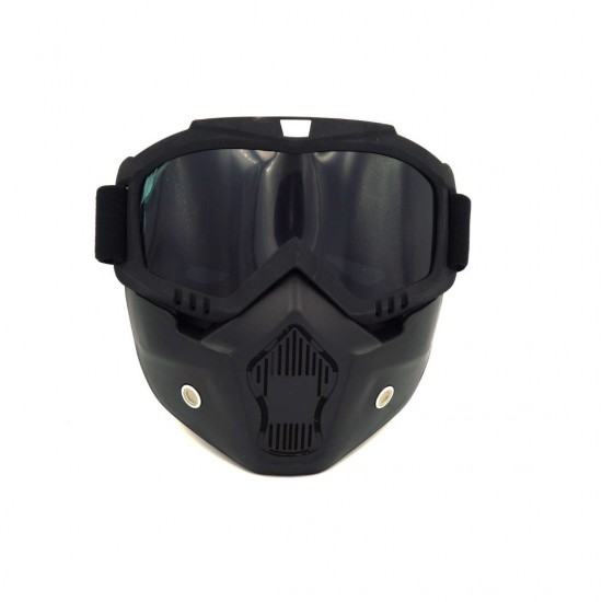 Face  Protection Mask Black