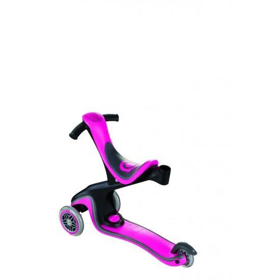 Globber Go-Up Sports Carriage, Walking, Skate Pink