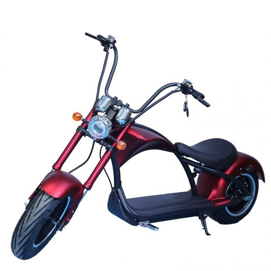 M1 Chopper Electric Scooter 2000W  Bordeaux