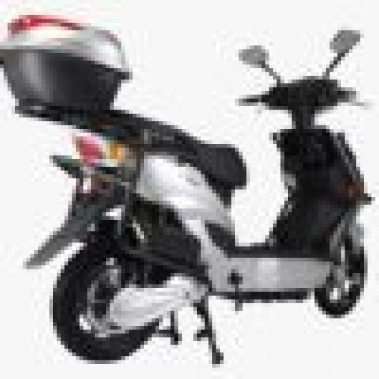 Electric Moped Volta Electric Assisted Silver
