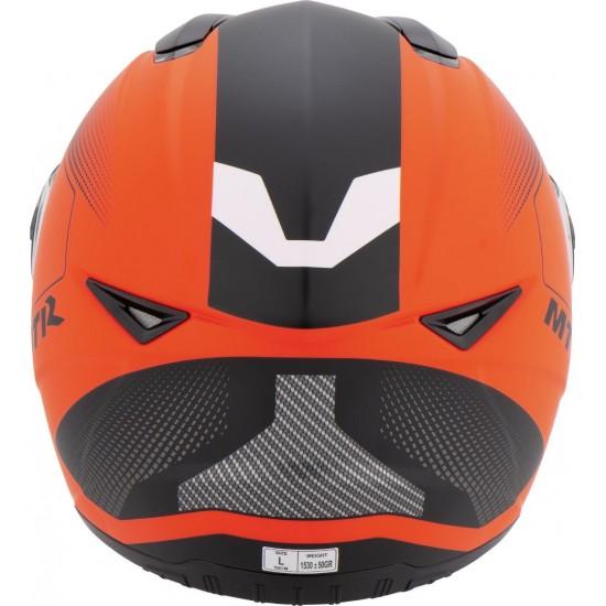 MTR S-5 Fullface Helmet Phosphorescent Orange