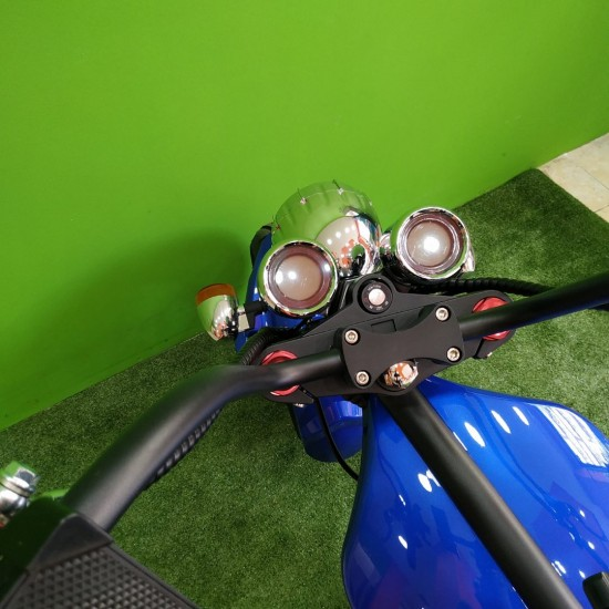 M1 Chopper Electric Scooter 2000W Blue