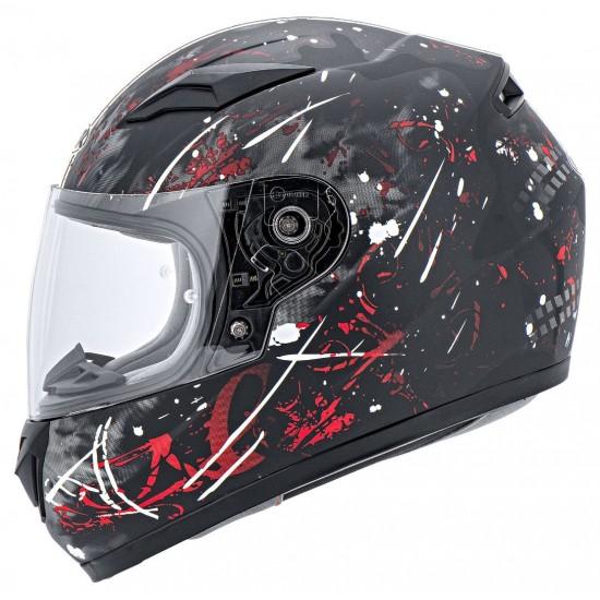 MTR Children's Helmet For The Full Face With Splashes Black