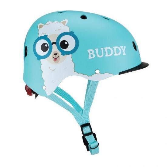Globber BUDDY Helmet With Elite Light