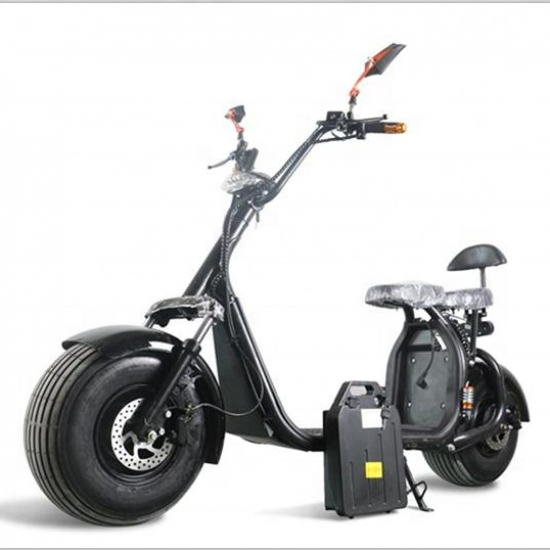 M2 City Coco Electric Scooter Black