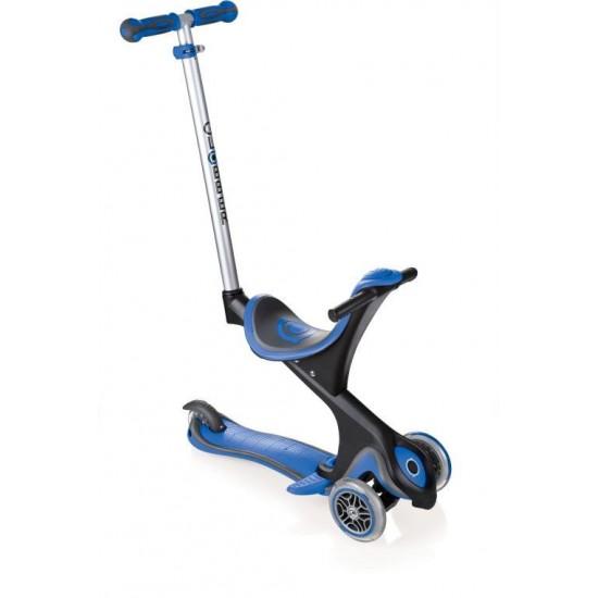 Globber Evo - Comfort 3 in 1 stroller, walker, skate Bleu