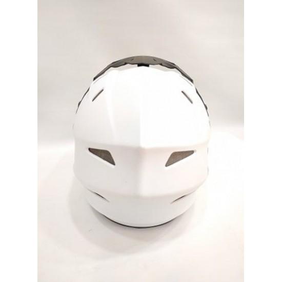 Full Face Downhillmoon Helmet White