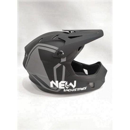 Full Face Downhillmoon Helmet Black